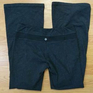 [Lululemon] Heathered Striped Wide Leg Pants